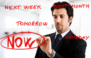 Procrastination concept