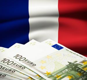 French Euro Bills
