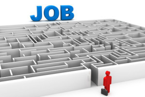 searching for jobs