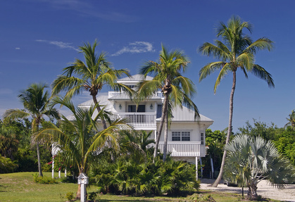 home in tropical paradise