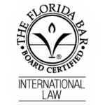 Expert certifié en droit international par le Barreau de Floride, francis m. boyer, spécialiste en droit international